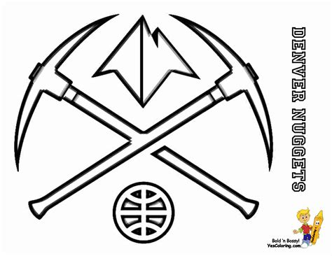 coloring pages nba team logos nba coloring pages
