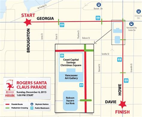 new year parade route vancouver details announced for 2015 santa claus parade in vancouver