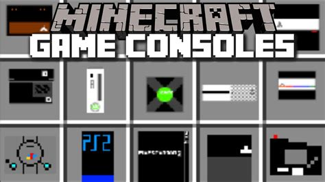 game console mod minecraft minecraft game consoles mod help the villagers find