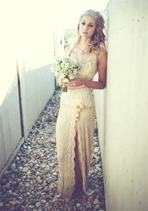 Chik Dress 45 beautiful boho chic wedding dresses happywedd