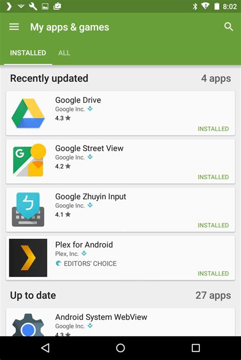 android all apps how to update all apps in android ask dave