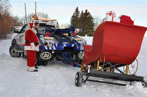 3 Car Garage Designs caa busy tending to roadside calls over the holidays