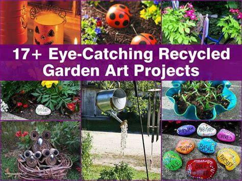 fun diy recycled garden art ideas