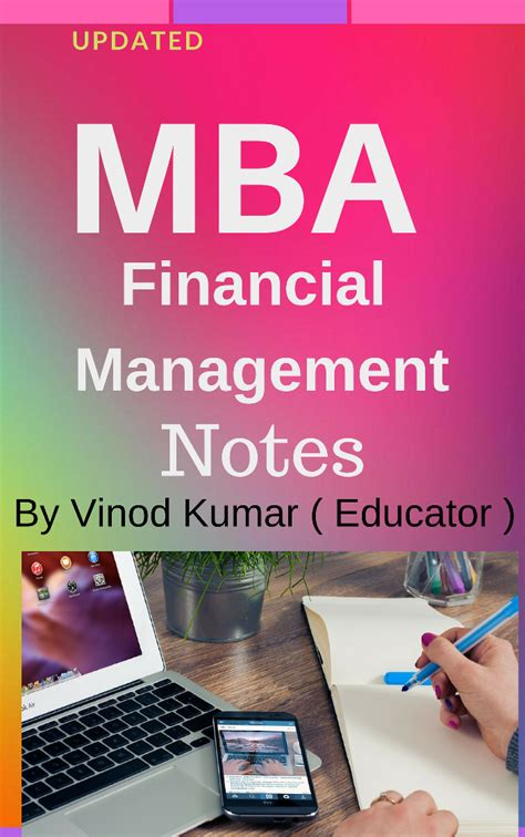 Mba Finance Lectures by Mba Financial Management Notes Krantikari