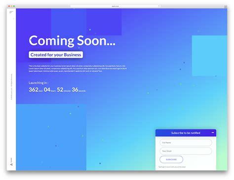 22 best coming soon html5 22 best coming soon html5 website templates 2018 colorlib