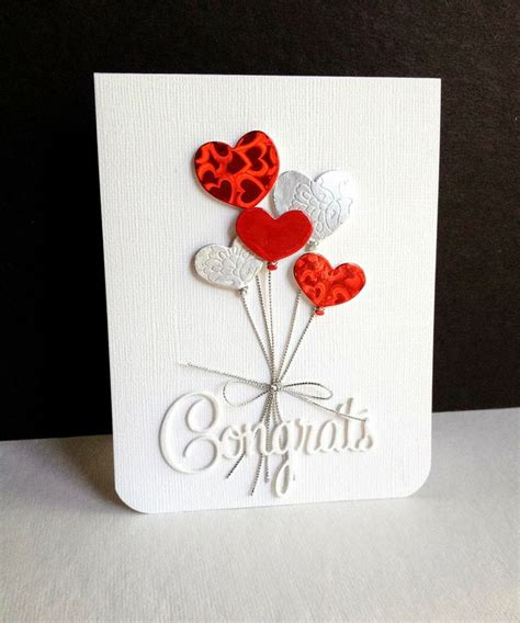 Handmade Congratulations Cards - 17 best ideas about wedding congratulations card on