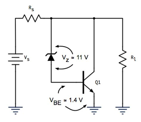 zener diode voltage regulator pdf series regulator zener diode