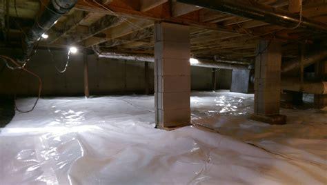 crawl space and basement waterproofing in atlanta