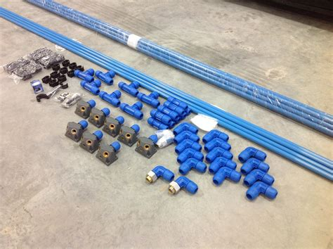 Compressed Air Plumbing by Powder Coating The Complete Guide Plumbing Your Air Compressor
