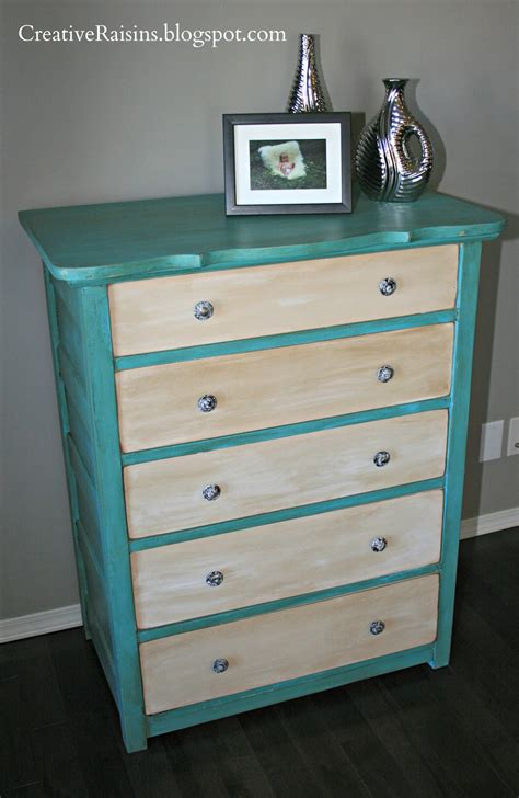 creative raisins dresser makeover