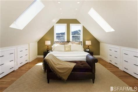 slanted ceiling bedroom attic master bedroom second floor plans pinterest
