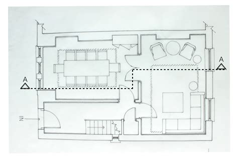 Plan Section Drawing by Preparing Section Drawings For Interior Design Project