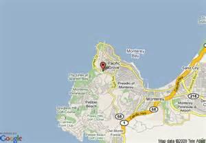 pebble map california map of pebble the inn at bay pacific grove