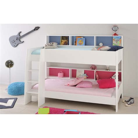 Tam Tam Bunk Bed Parisot Tam Tam Bunk Bed White Jellybean Ireland