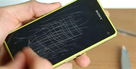 Iphone 7 Glas Polieren by Sony Xperia Z1 Compact Schutzfilm Zerkratzt Und Ersetzt