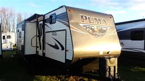 2016 puma 31bhss 2 bedroom travel trailer with bunks 2016 puma 32fbis 2 bedroom travel trailer with outside
