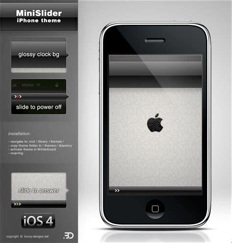 themes lockscreen iphone lockscreen minislider black theme iphone 3g 3gs