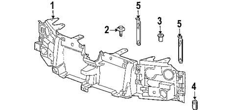2003 chevy trailblazer parts diagram 2003 chevrolet trailblazer parts gm parts department