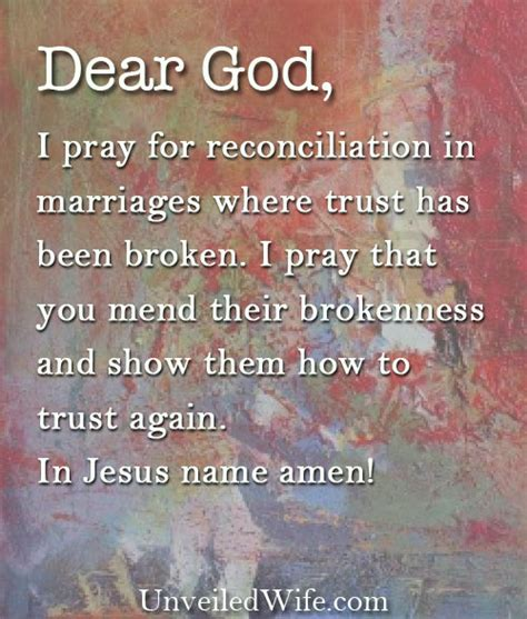 God restore my marriage prayer