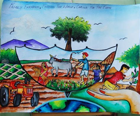 themes of drawing competition save trees save environment drawing