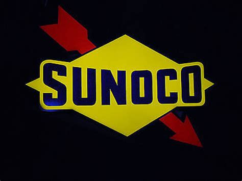 sunoco lighted signs for sale used sunoco lighted sign ubb threads