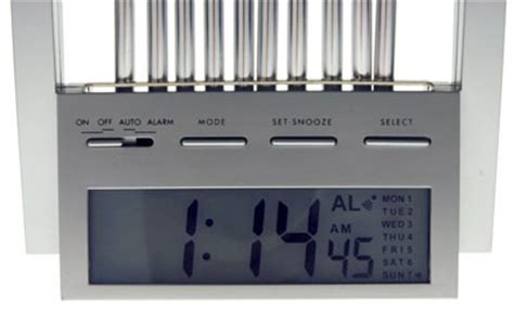wind chime alarm clock wakes up the soundest sleepers