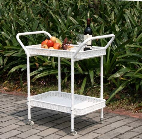 Wicker Patio Furniture Sets Cheap Outdoor White Wicker Patio Furniture Serving Cart 187 187 187 Cheap Patio Furniture Sets