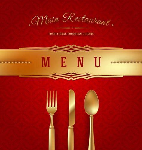 restaurant wooden sign  menu cover vectors