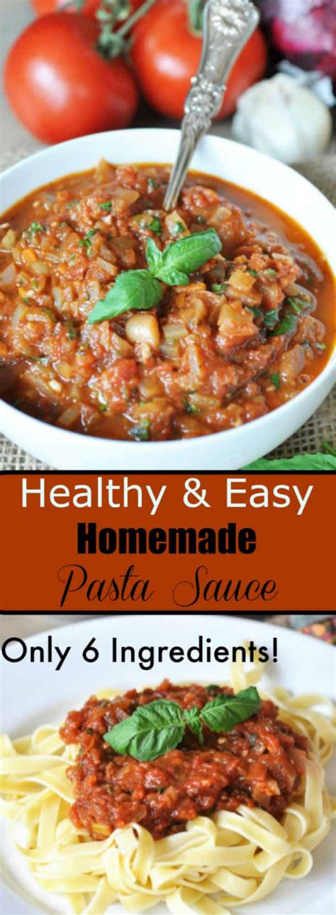 easy pasta sauce healthy and easy homemade pasta sauce veganosity