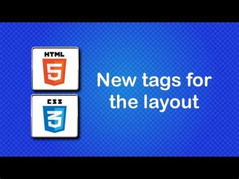 javascript tutorial quentin watt html5 and css3 beginner tutorial 35 new tags for the