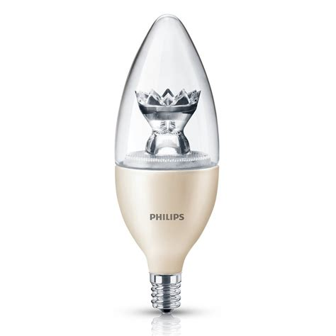 Lu Led Philips 40 Watt philips 435057 40 watt equivalent dimmable led b13