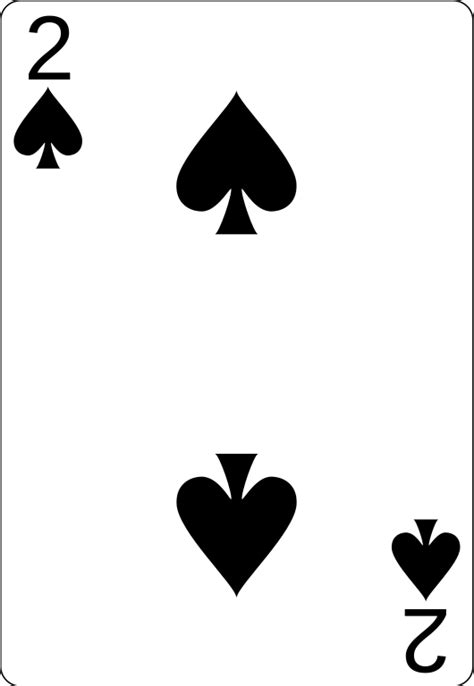 File:2 of spades.svg   Wikimedia Commons