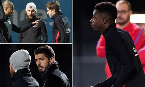 ousmane dembele knee injury sport latest news pictures and videos daily mail online