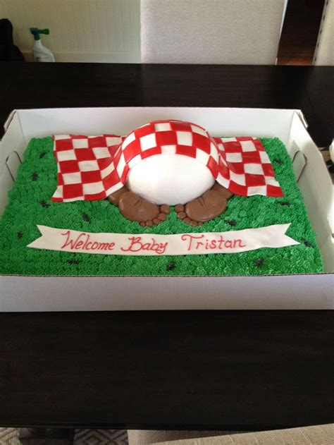 Backyard Bbq Baby Shower Ideas Backyard Baby Q Cake Oakmontbakery Cake Decorating