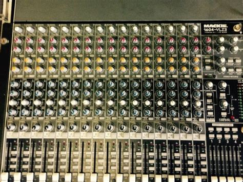 Mixer Mackie Second mackie vlz3 16 channel mixer for sale in cobh cork from