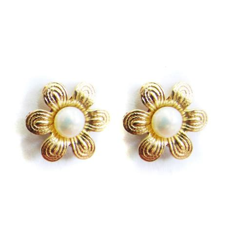 earrings design gold earrings designs images vintage gold earrings with a