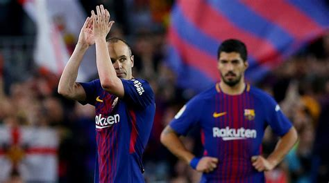 barcelona believe andres iniesta will leave for chinese barcelona great andres iniesta to decide next week