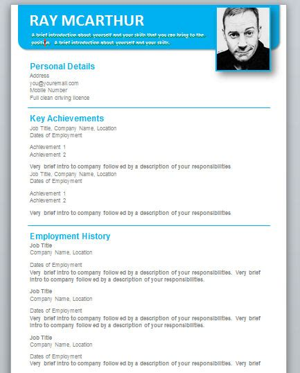 free microsoft word cv template downloads word format resume free formats in igrefriv info