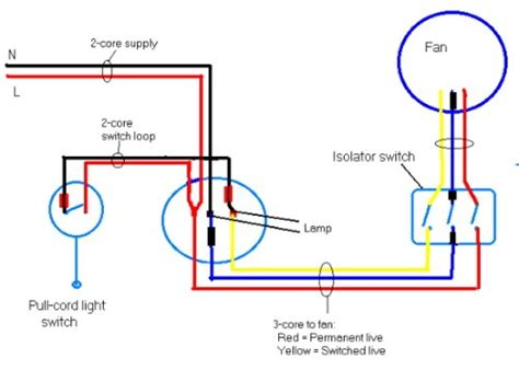 wiring diagram for bathroom extractor fan with timer
