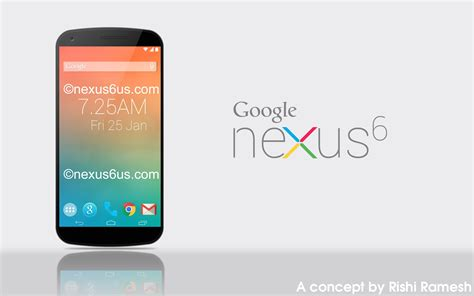 design google nexus 6 google nexus 6 design ispirato all lg g3 e sensore touch id