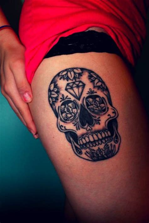 sugar skull tattoo designs tumblr sugar skull designs