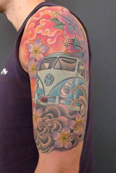 volkswagen bus tattoo vw bus arm tattoo tattoo designs