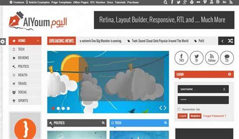 wordpress themes free arabic 18 most selling multilingual rtl arabic wordpress themes
