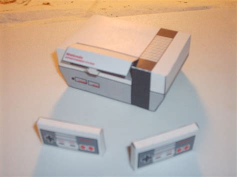 Nes Papercraft - nes papercraft by austinmeadows on deviantart