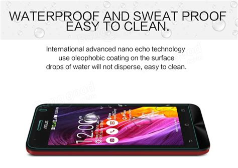 Hippo Zenfone C Zc451cg Tempered Glass nillkin h tempered glass screen protector for asus zenfone c zc451cg sale banggood sold out