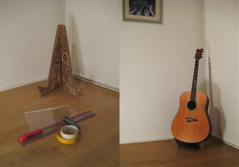 diy guitar stand cardboard guitar stand by anthony smith guitar stand