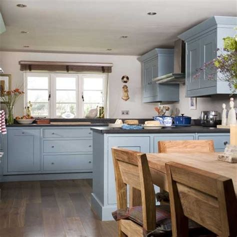 country kitchen diner ideas blue country style kitchen housetohome co uk