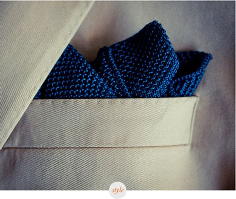 Silk Knit Pocket Square Mens Suits Tips