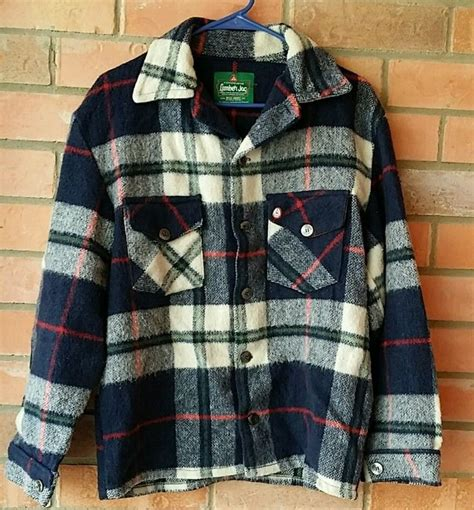 Shirt Moskav Lumber Flannel vintage wool canadian lumber jac by bell shirt flannel plaid jacket s fashion