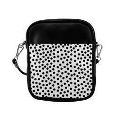 Polkadot Slingbag 2 black polka dot design sling bag model 1627 id d36168